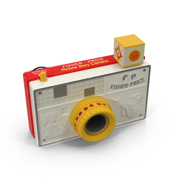 Fisher Price Toy Camera PNG & PSD Images