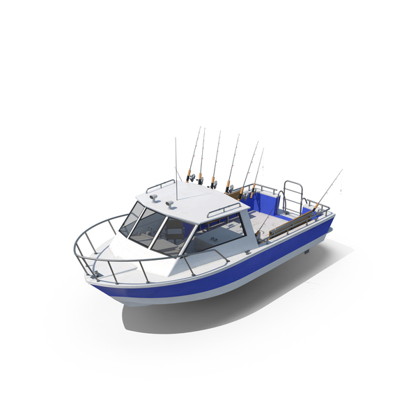 Fishing Boat Object