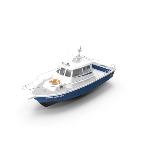 Fishing Motor Boat PNG & PSD Images