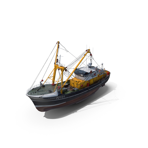 Fishing Trawler PNG & PSD Images