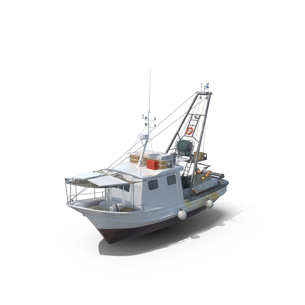 Boat: Fishing  Vessel PNG & PSD Images
