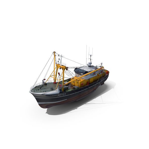 Fishing Vessel PNG & PSD Images