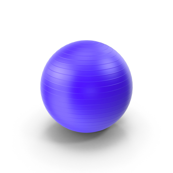 Exercise Equipment: Fitness Ball PNG & PSD Images