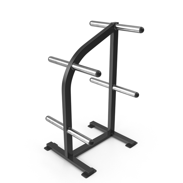 Weight Plate Tree: Fitness Rack PNG & PSD Images