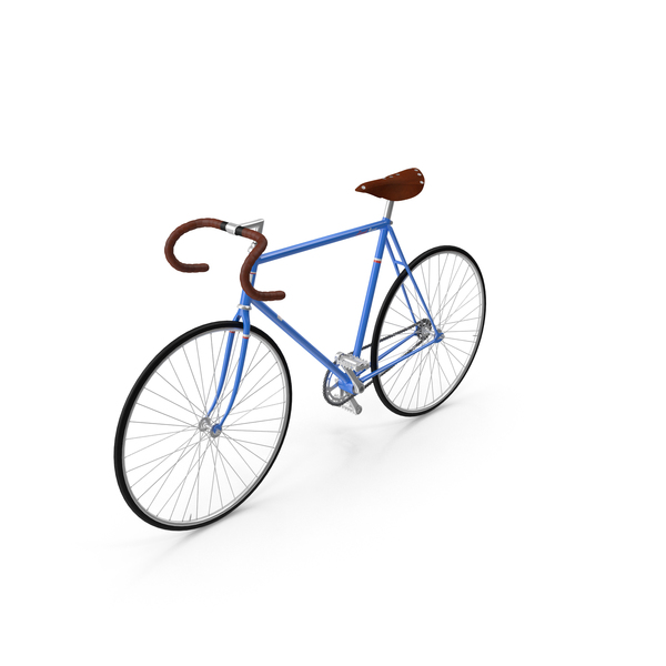 Road: Fixed Gear Bicycle PNG & PSD Images