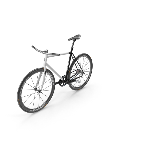 Road: Fixed Gear Bicycle - Urban Cycling PNG & PSD Images