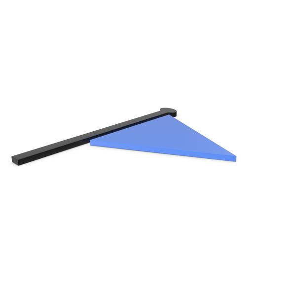 Flag Black and Blue Symbol PNG & PSD Images