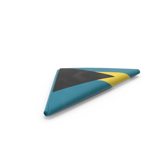 Flag Folded Triangle Bahamas PNG & PSD Images