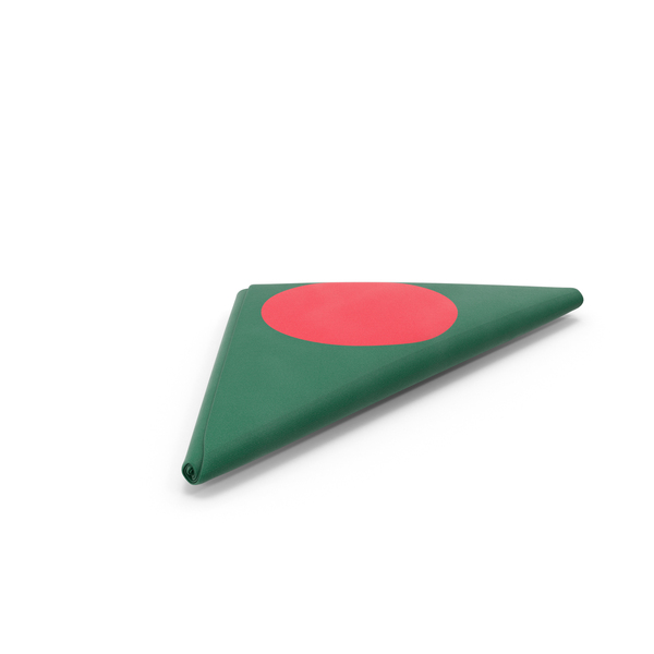 Flag Folded Triangle Bangladesh PNG & PSD Images