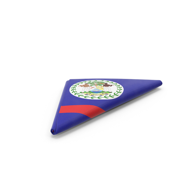 Flag Folded Triangle Belize PNG & PSD Images