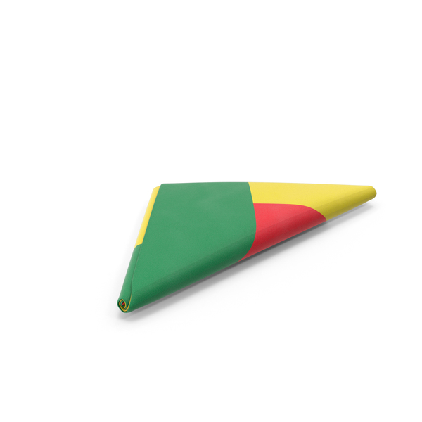 Flag Folded Triangle Benin PNG & PSD Images