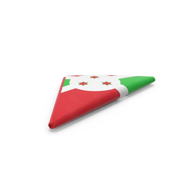 Flag Folded Triangle Burundi PNG & PSD Images
