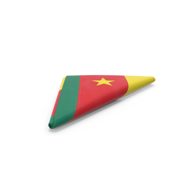 Cambodian: Flag Folded Triangle Cameroon PNG & PSD Images