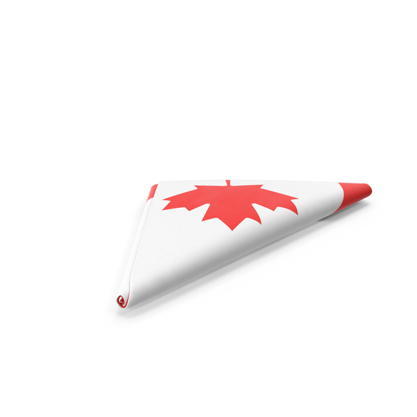 Flag Folded Triangle Canada PNG & PSD Images