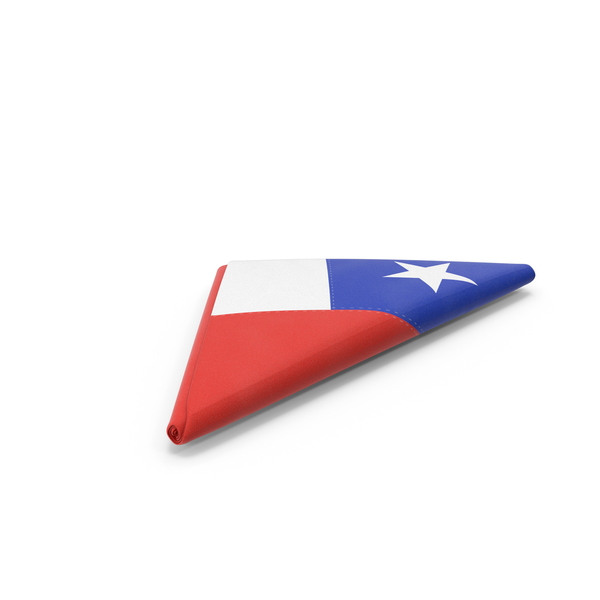 Flag Folded Triangle Chile PNG & PSD Images
