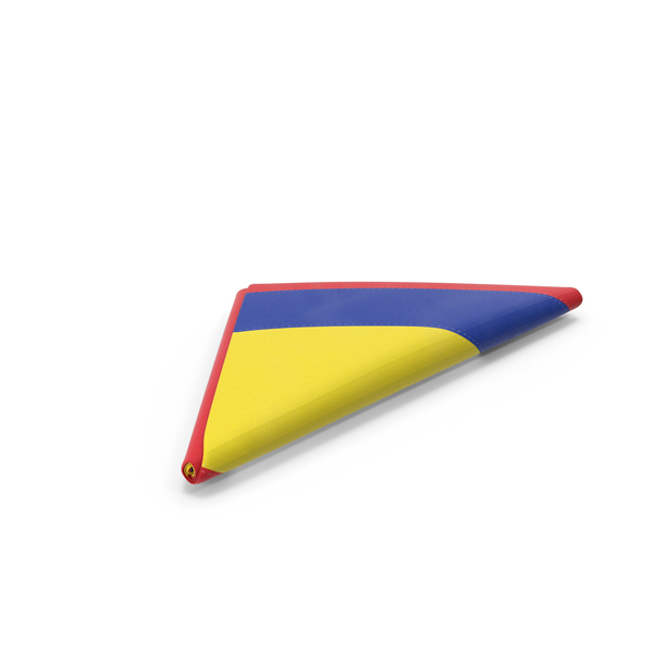 Flag Folded Triangle Colombia PNG & PSD Images