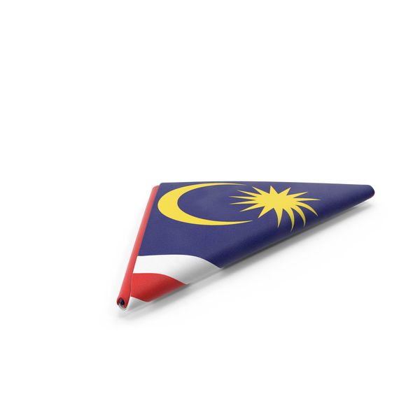 Flag Folded Triangle Malaysia PNG & PSD Images