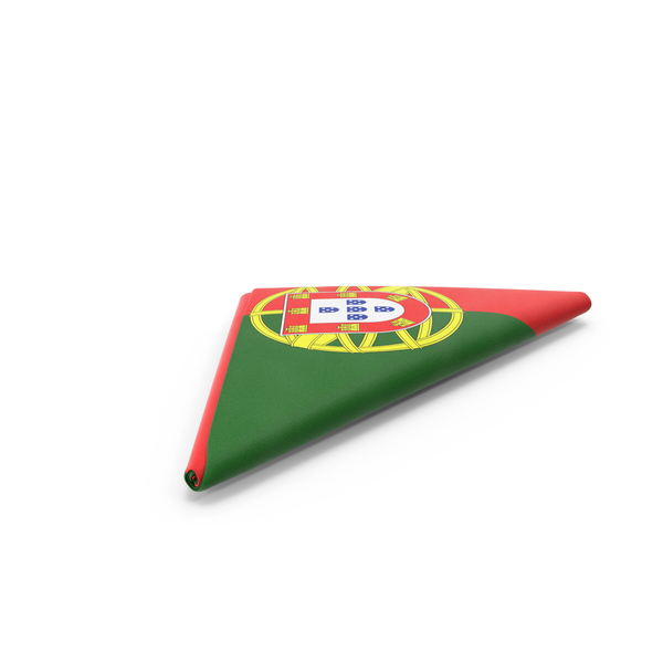 Flag Folded Triangle Portugal PNG & PSD Images