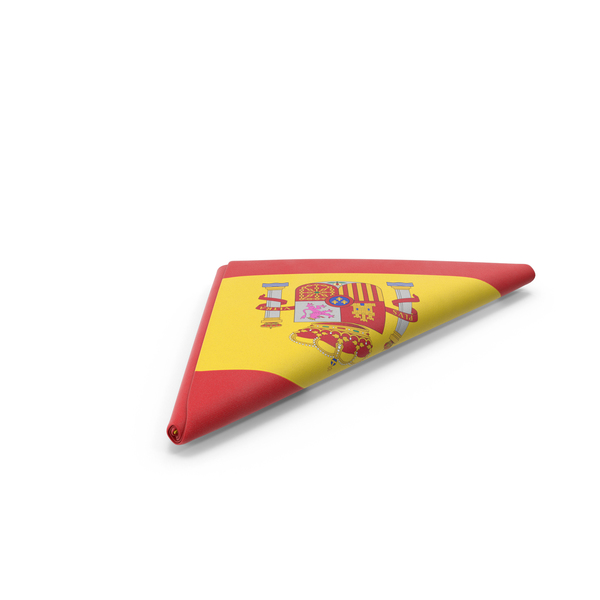 Flag Folded Triangle Spain PNG & PSD Images