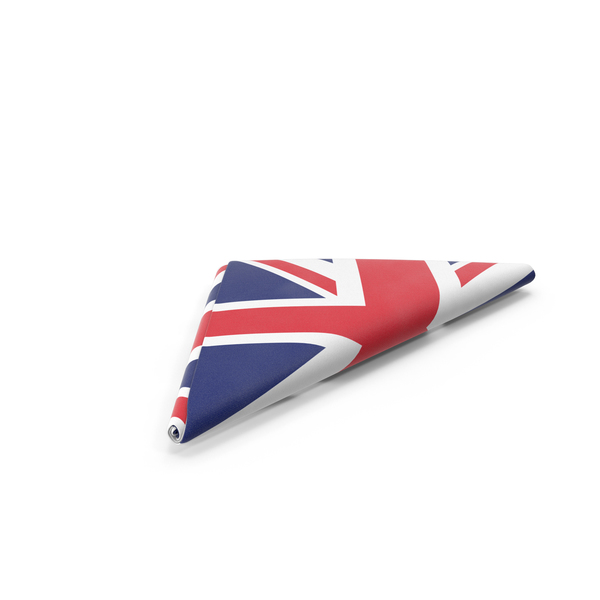 British: Flag Folded Triangle United Kingdom PNG & PSD Images