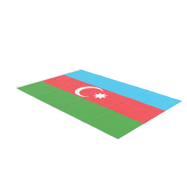 Flag Laying Pose Azerbaijan PNG & PSD Images