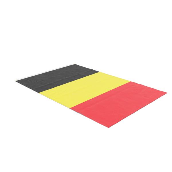 Flag Laying Pose Belgium PNG & PSD Images