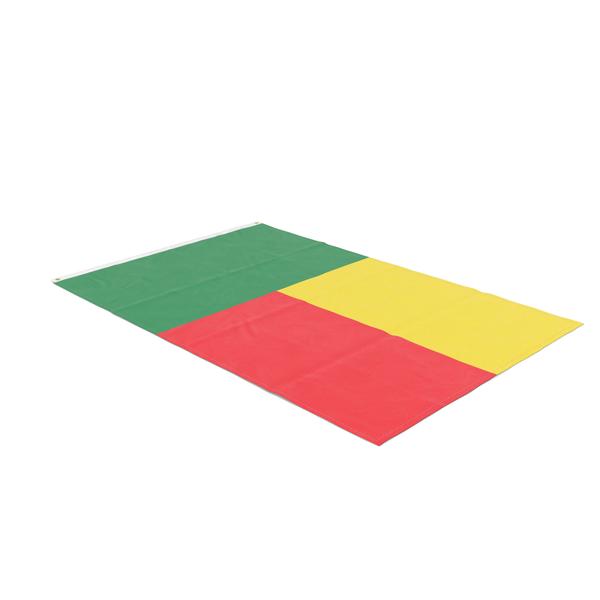 Flag Laying Pose Benin PNG & PSD Images