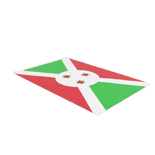 Flag Laying Pose Burundi PNG & PSD Images