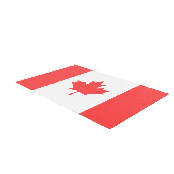Flag Laying Pose Canada PNG & PSD Images