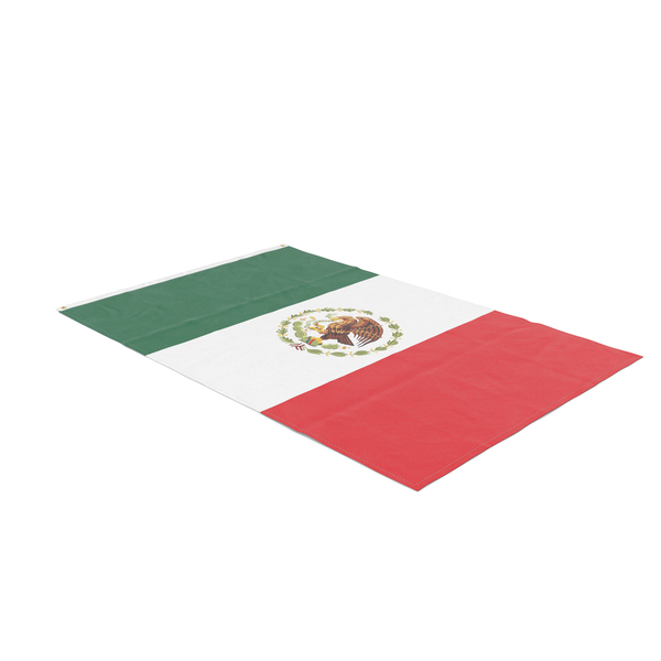 Flag Laying Pose Mexico PNG & PSD Images