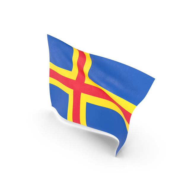 Flag of Aland Islands PNG & PSD Images