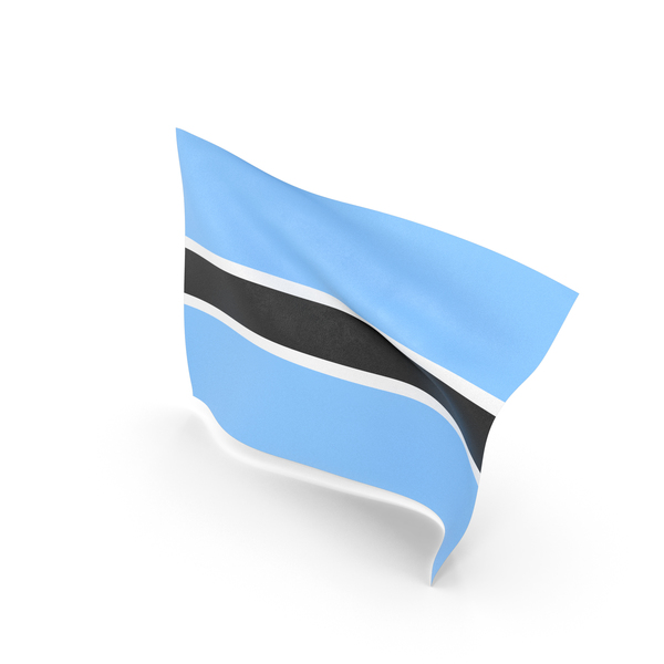 Flag of Botswana PNG & PSD Images