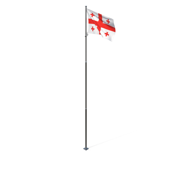 Flag of Georgia PNG & PSD Images