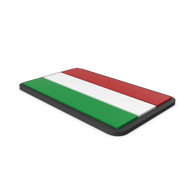 Flag of Hungary PVC Patch PNG & PSD Images