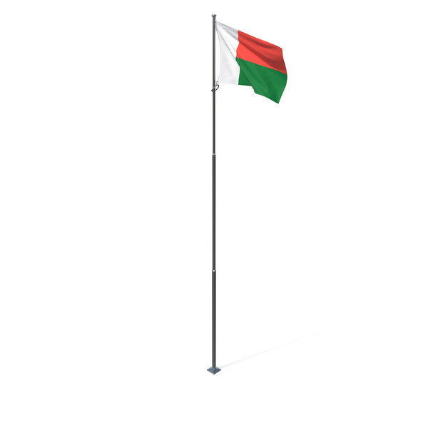 Flag of Madagascar PNG & PSD Images