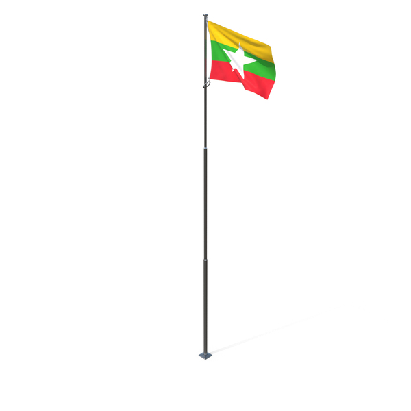 Flag of Myanmar PNG & PSD Images