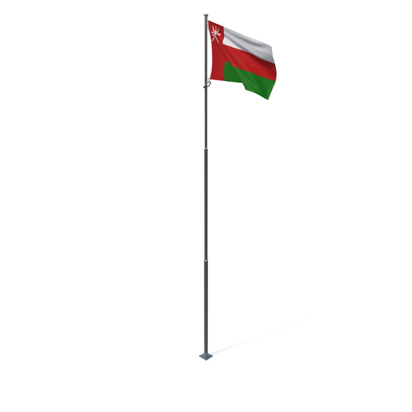 Flag of Oman PNG & PSD Images