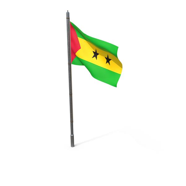 Flag of Sao Tome and Principe PNG & PSD Images