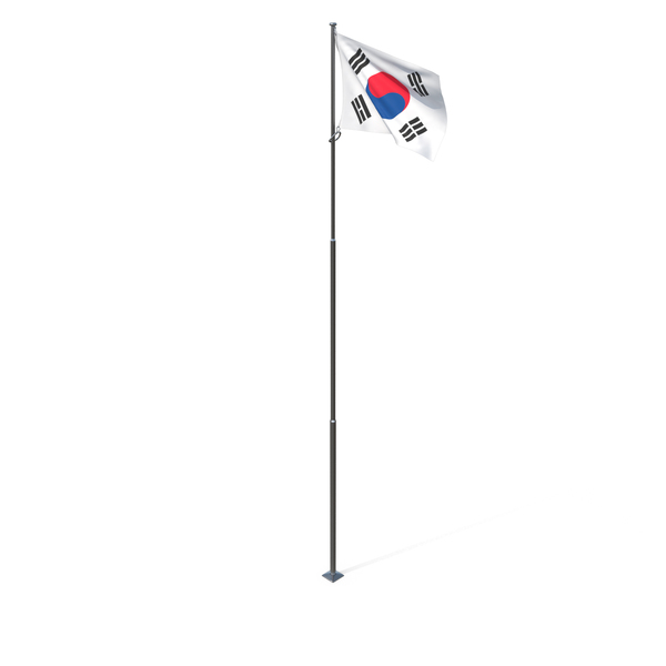 Korean: Flag of South Korea PNG & PSD Images