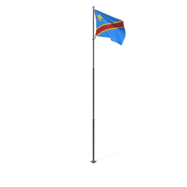 Flag of the Democratic Republic of the Congo PNG & PSD Images