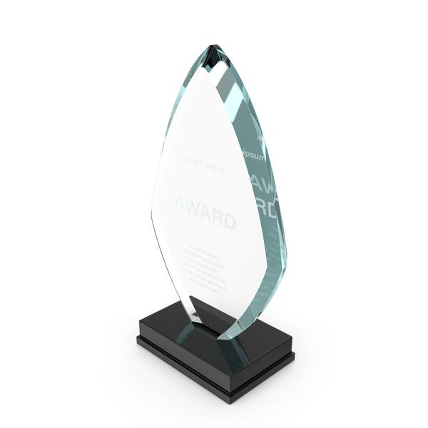 Media: Flame Glass Award Trophy PNG & PSD Images