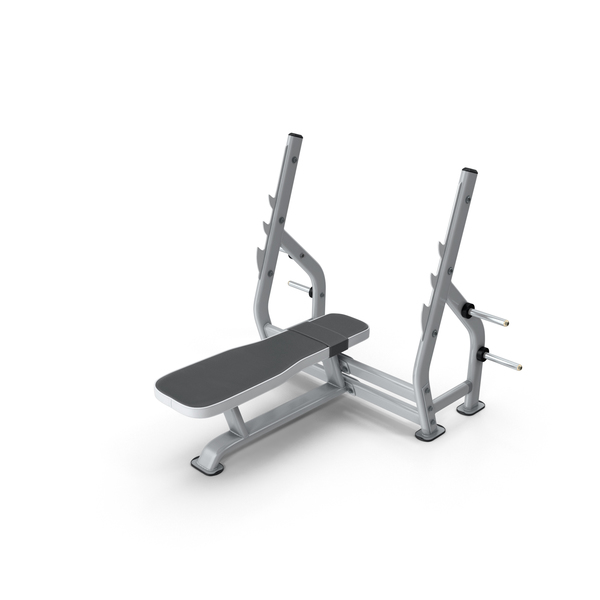 Flat Press Bench PNG & PSD Images