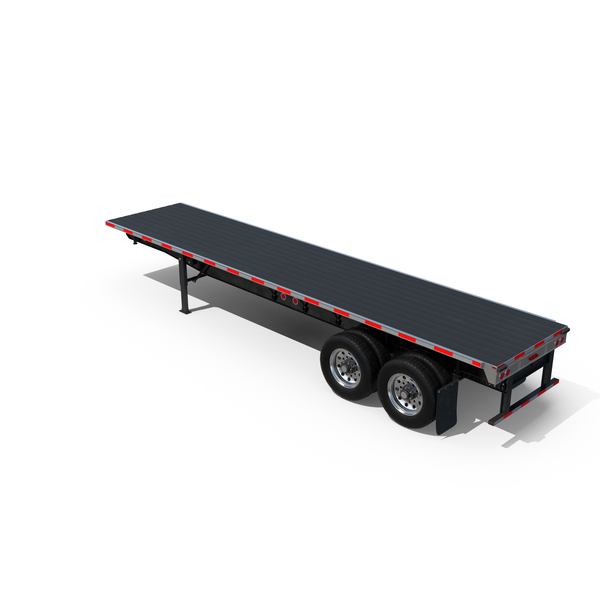 Flatbed Trailer PNG & PSD Images