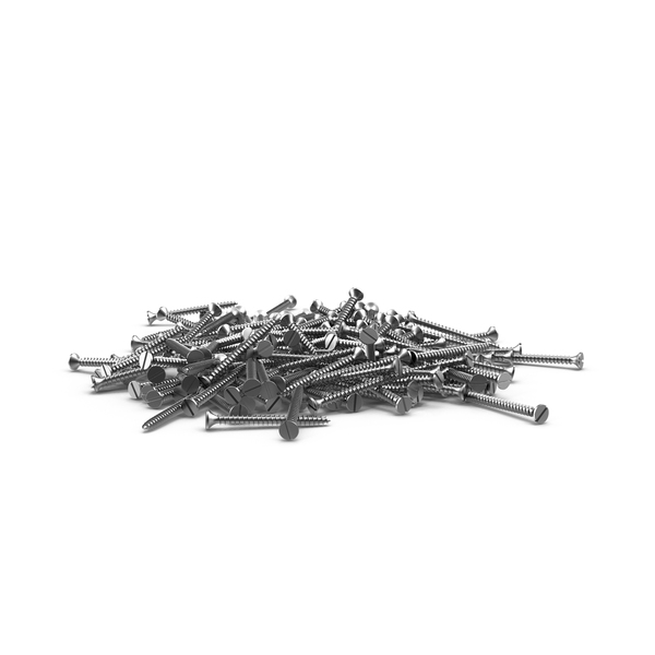 Flathead Screws PNG & PSD Images