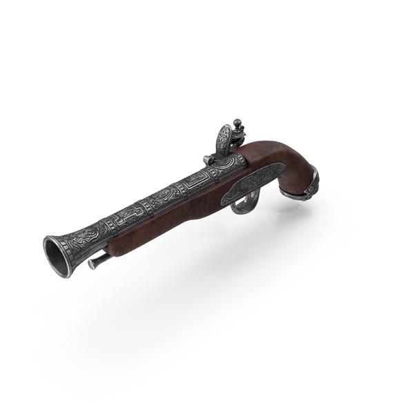 Musket: Flintlock Pistol PNG & PSD Images