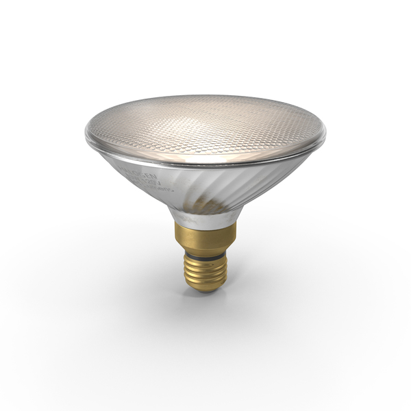 Flood Light Bulb Object