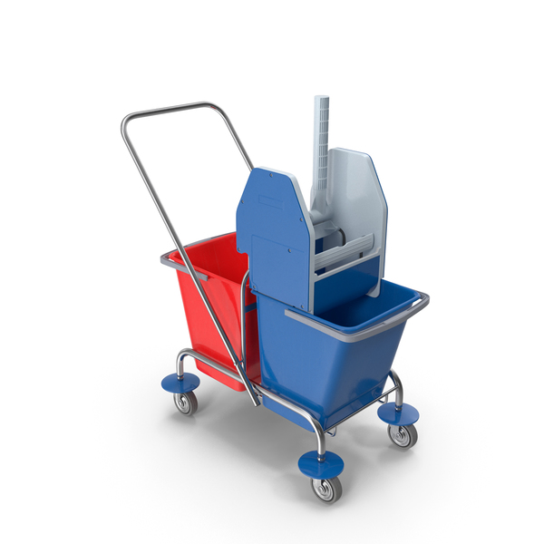 Floor Cleaning Trolley PNG & PSD Images