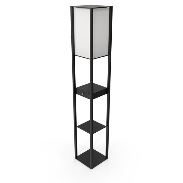 Floor Lamp Black LSP-0333 PNG & PSD Images