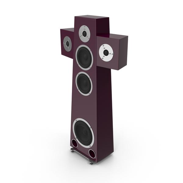 Floor Speaker PNG & PSD Images