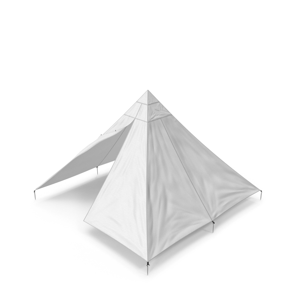 Floorless Camping Tent Open Object